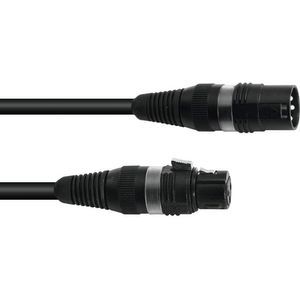 SOMMER CABLE DMX Kabel XLR 3pol 1m sw Hicon