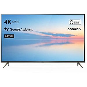 TCL 50EP640 127 cm (50 Zoll) LCD-Technologie (Ultra HD, HDR) HD-Triple-Tuner (Sat, Antenne, Kabel) Smart TV Modelljahr 2019 Energieklasse A+