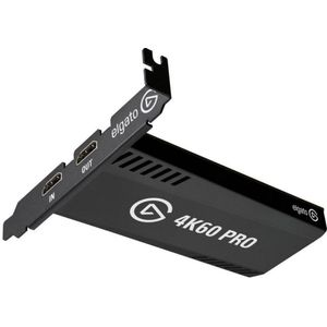 Corsair Elgato Game Capture 4K60 Pro MK.2 (4K60FPS HDR Capture, PCI x 4 (Intern) und Passthrough, PCIe Capture Card, Ultra-Low-Latency Technologie)