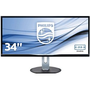 Philips Brilliance BDM3470UP - 34 Zoll, UWQHD (3440 x 1440), IPS-Panel, 60Hz, 5ms, 320cd/m²