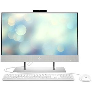 HP Pavilion 24-k0010ng (23,8 Zoll - Full HD) All-in-One PC (Intel Core i5-10400T, 8GB DDR4 RAM, 512 GB SSD SSD, Intel UHD-Grafik 630, Windows 10) weiß
