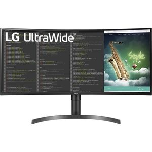 LG 35WN75C-B - 35 Zoll, QHD (3440 x 1440), VA-Panel, 100Hz, 5ms, 300cd/m² (35WN75C-B)