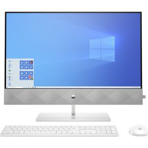 HP Inc HP Pavilion 27-d0303ng - All-in-One (Komplettlösung) - Core i5 10400T / 2 GHz - RAM 8 GB - SSD 256 GB - NVMe, HDD 1 TB - GF MX350 / UHD Graphics 630 - GigE - WLAN: Wi-Fi, Bluetooth 5.0 - Win 10 Home 64-Bit - Monitor: LED 68.58 cm (27'') 1920 x 1080