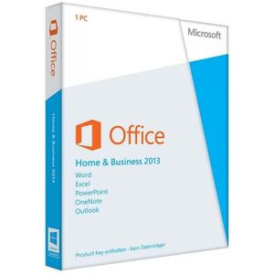 Microsoft Office 2013 Home and Business, PKC (PC)