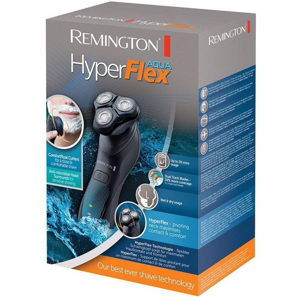 Remington Rotationsrasierer HyperFlex Aqua XR1430