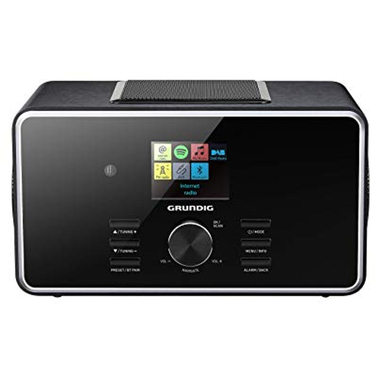 Grundig DTR 6000 2.1 BT DAB+ WEB All-in-one-Internetradio mit Bluetooth