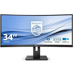 Philips B Line 342B1C - 34 Zoll, UWFHD (2560 x 1080), VA-Panel, 60Hz, 5ms, 300cd/m²