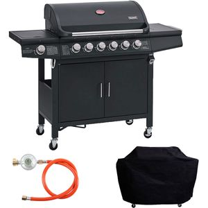 TAINO RED 6+1 Gasgrill Set
