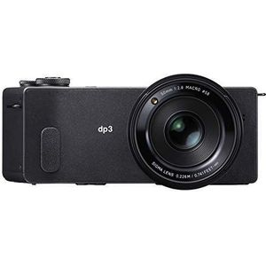 Sigma dp3 Quattro Digitalkamera (39 Megapixel, 7,6 cm (3 Zoll) Display, SD-Slot, USB 2.0) schwarz