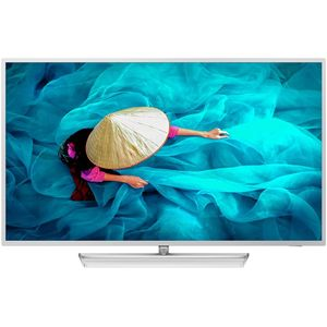Philips 43HFL6014U 108 cm (43 Zoll) LCD-Technologie (Ultra HD, kein HDR) HD-Triple-Tuner (Sat, Antenne, Kabel) Smart TV Modelljahr 2019 Energieklasse A