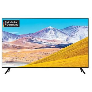 Samsung GU75TU8079 190 cm (75 Zoll) LCD-Technologie (Ultra HD, HDR) HD-Triple-Tuner (Sat, Antenne, Kabel) Smart TV Modelljahr 2020 Energieklasse A (Deutsche Version)