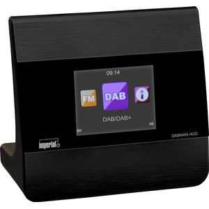 Imperial 22-241-00 Dabman i400 Internet--DAB+ Radio (Stereo Sound, Internet-DAB+-DAB-UKW, Bluetooth, Multiroom, Equalizer, UPnP-Audio Streaming, WLAN, LAN, Line-Out inkl. Netzteil)