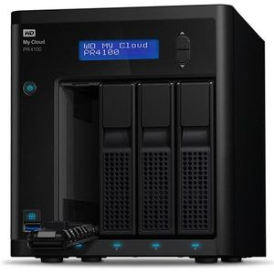 WD 40 TB My Cloud Pro PR4100 Pro Serie 4-Bay Network Attached Storage - NAS - WDBNFA0400KBK-EESN