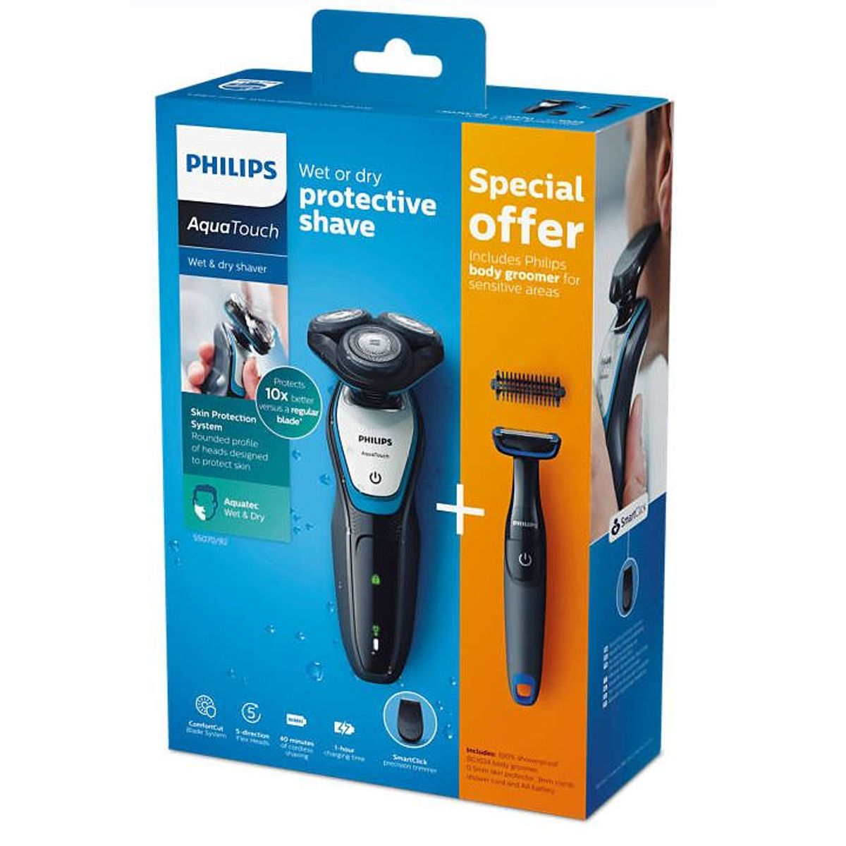 Philips AquaTouch S5070-92 Trimmer
