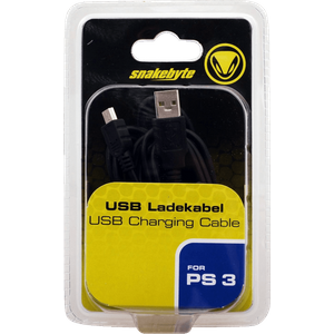 snakebyte PS3 USB CHARGE:CABLE