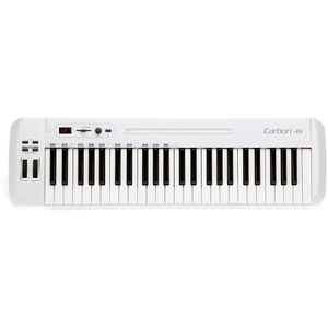 Samson Carbon 49 USB-MIDI Controller Masterkeyboard 49 Tasten inkl. Native Elements Software