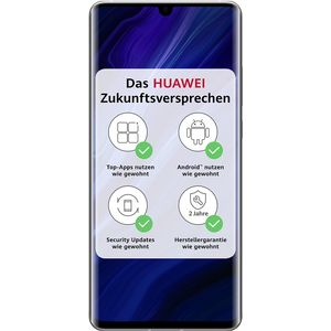Huawei P30 Pro New Edition Smartphone 16,43cm (6,47 Zoll) OLED-Display, 256GB interner Speicher, 8GB RAM, Dual-SIM, Android, Silver Frost