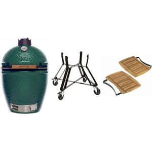 Big Green Egg Large inkl. Mover, Tisch