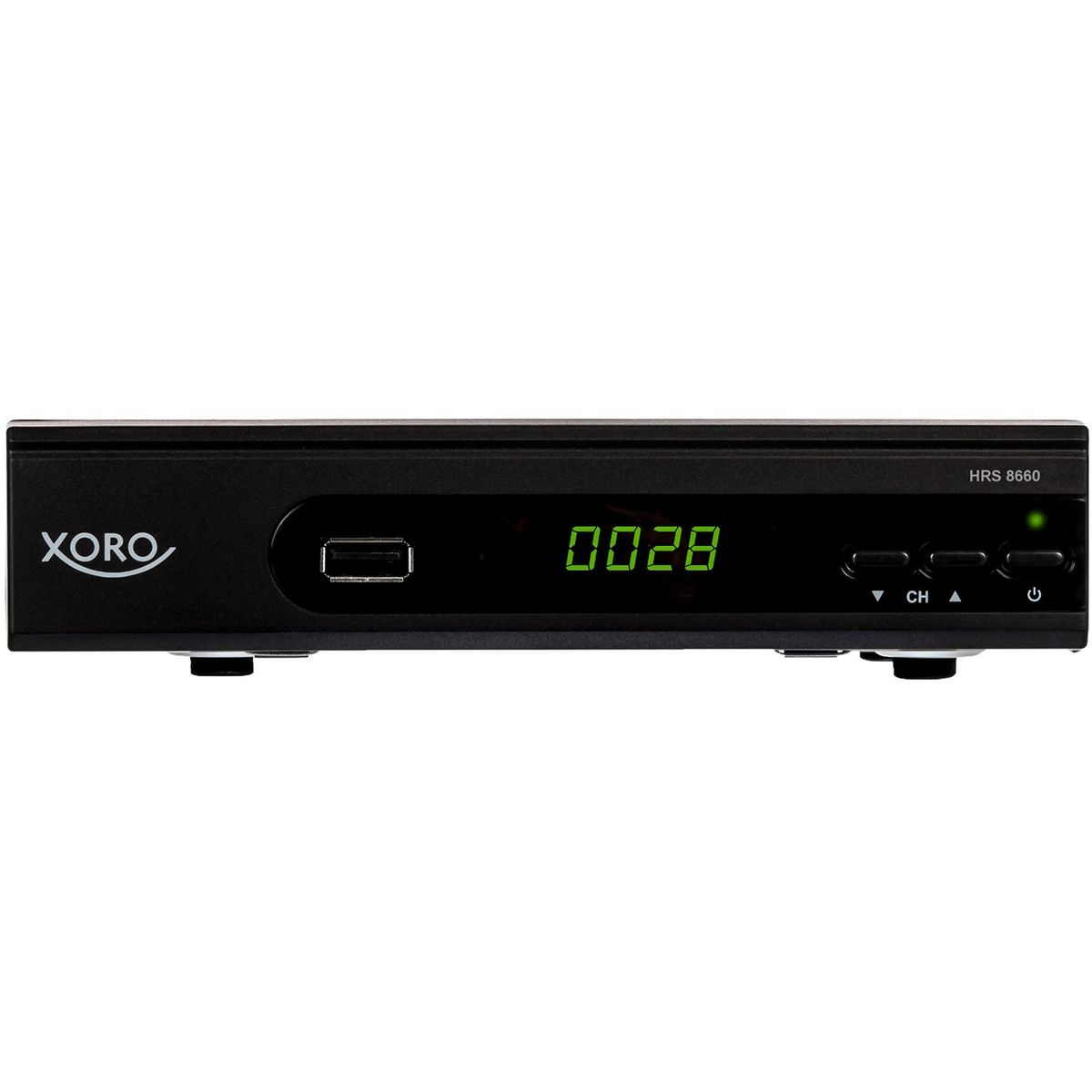 Xoro HRS 8660 digitaler Satelliten-Receiver mit LAN Anschluss (HDTV, DVB-S2, HDMI, SCART, PVR-Ready, USB 2.0)