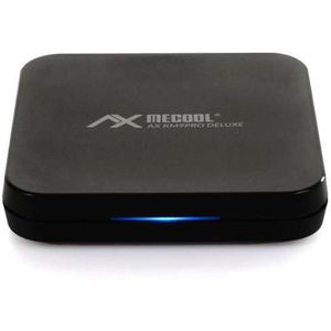 AX Mecool KM9 Pro Deluxe 4K UHD Android-TV 10.0 IPTV Streaming Box,...