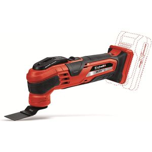 Einhell VARRITO TE-MG 18 Li Solo Akku-Multifunktionswerkzeug Multi-Cutter Power X-Change Li-Ion