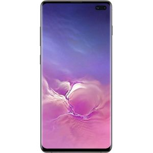 Samsung Galaxy S10+ Smartphone 16,26cm (6,4 Zoll) Super AMOLED-Display, 512GB interner Speicher, 8GB RAM, Dual-SIM, Android, Ceramic Black