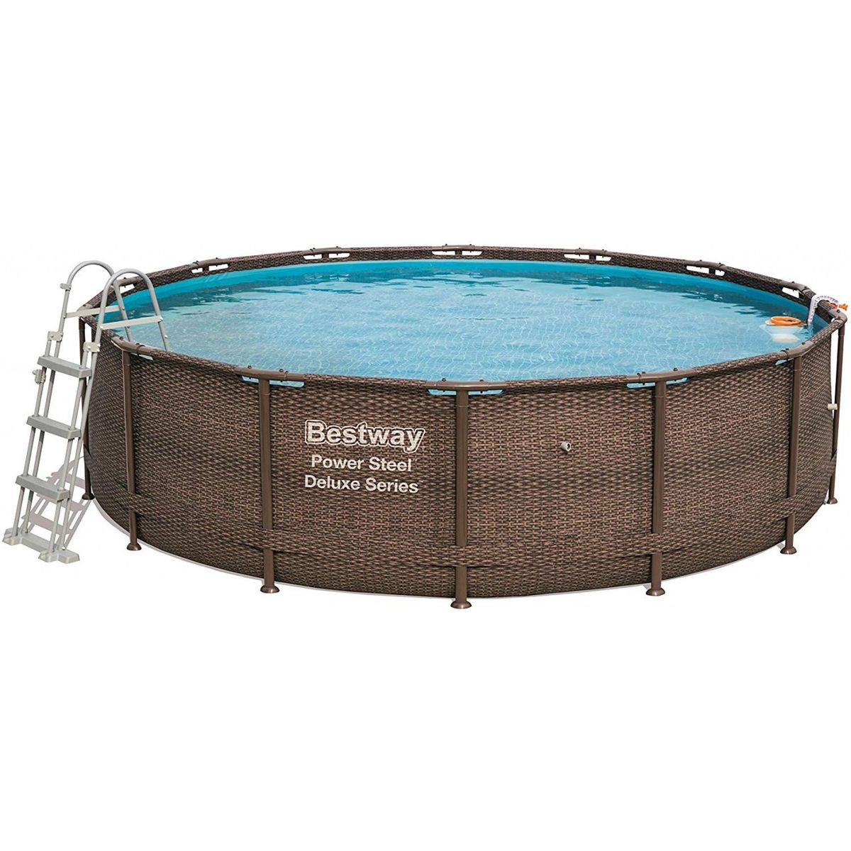 Bestway Power Steel Deluxe Pool Set Ø427x107 cm