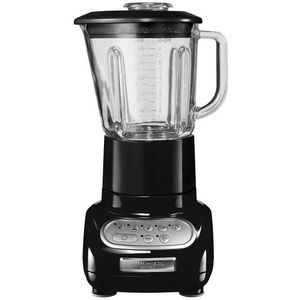 Kitchenaid 5KSB5553EOB Artisan-Blender-Standermixer, 550W, 1,5 L, Intelli-Speed-Steuerung, schwarz