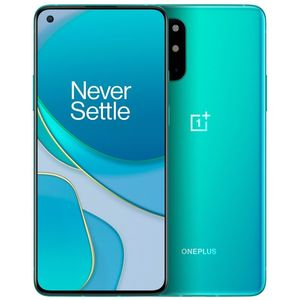 OnePlus 8T 5G Smartphone 16,64cm (6,55 Zoll) AMOLED-Display, 256GB interner Speicher, 12GB RAM, Dual-SIM, Android, Aquamarine Green