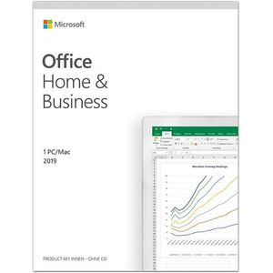 Microsoft Office 2019 Home & Business | multilingual, 1 PC (Windows 10) - Mac, Dauerlizenz | Box