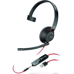 Plantronics Blackwire 5210, USB-A, one-Ear Headset with Clip