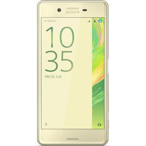 Sony Xperia X Performance Smartphone 12,7cm (5 Zoll) TFT-Display, 32GB interner Speicher, 3GB RAM, Android, Lime Gold