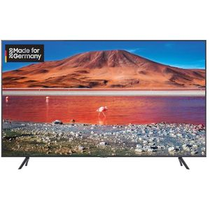 Samsung GU65TU7199 165 cm (65 Zoll) LCD-Technologie (Ultra HD, HDR) HD-Triple-Tuner (Sat, Antenne, Kabel) Smart TV Modelljahr 2020 Energieklasse A+ (Deutsche Version)