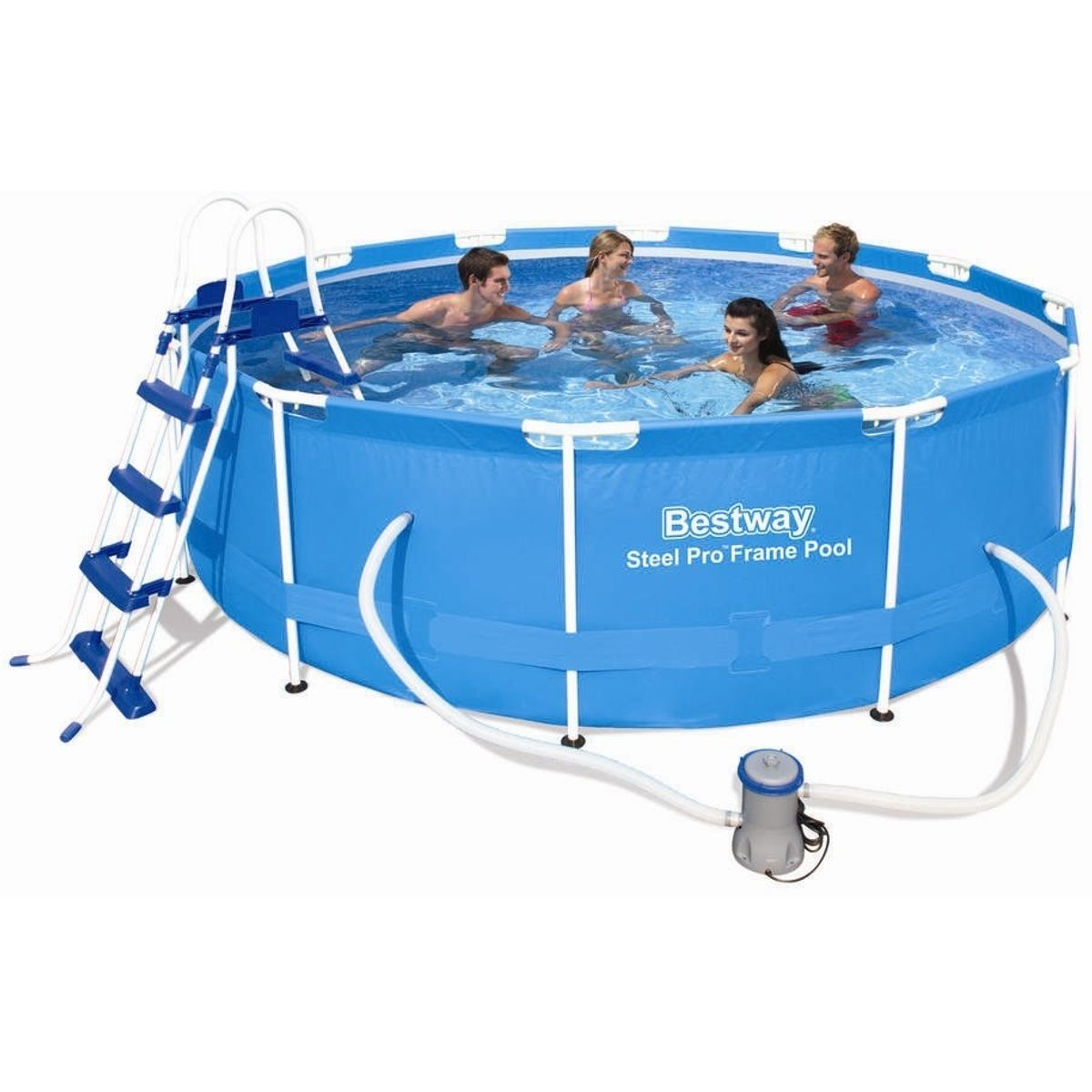 Bestway Steel Pro Pool Set Ø366x100 cm