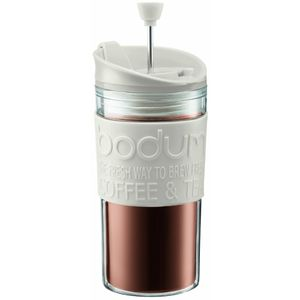 Bodum Travel Press Set 0.35 l cremeweiß