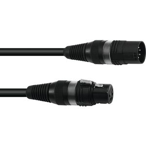 Sommer Cable DMX Kabel XLR 5 pin 1,5 m sw Hicon
