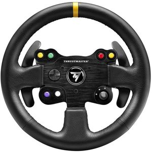 Thrustmaster Leather 28 GT Wheel Add-On Schwarz (4060057) (PC, PS3, PS4, Xbox One, Xbox Series)