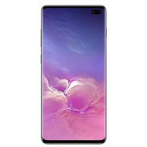 Samsung Galaxy S10+ Smartphone 16,26cm (6,4 Zoll) Super AMOLED-Display, 128GB interner Speicher, 8GB RAM, Dual-SIM, Android, Prism Black