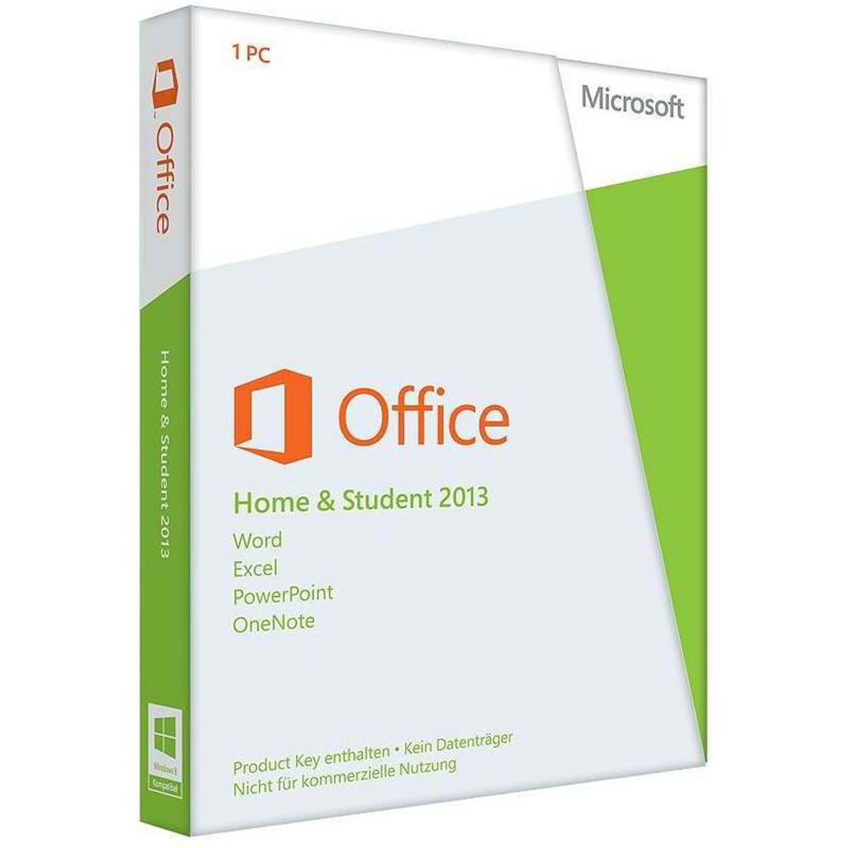 Microsoft Office 2013 Home and Student, PKC (PC, Mac)