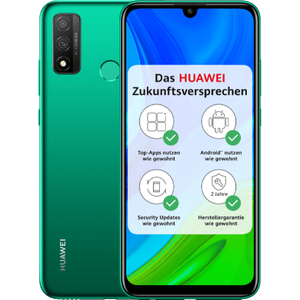 Huawei P smart 2020 Smartphone 15,77cm (6,21 Zoll) TFT LCD-Display, 128GB interner Speicher, 4GB RAM, Dual-SIM, Android, Emerald Green