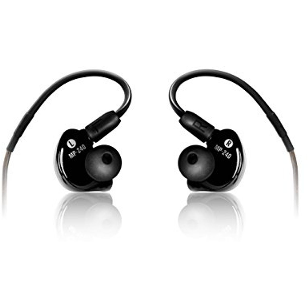 Mackie MP-240 Professionelle In-Ear-Monitore mit Dual-Hybrid-Treiber