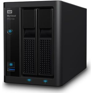 WD Diskless My Cloud Pro PR2100 Pro Serie 2-Bay Network Attached Storage - NAS - WDBBCL0000NBK-EESN