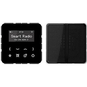 Jung Rad 518 SW Smart Radio-Set Mono Serie CD schwarz