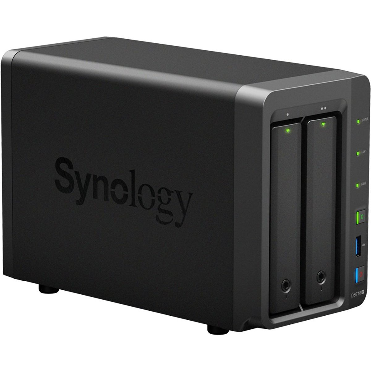 Synology DS718+ 2 Bay Desktop NAS Gehäuse
