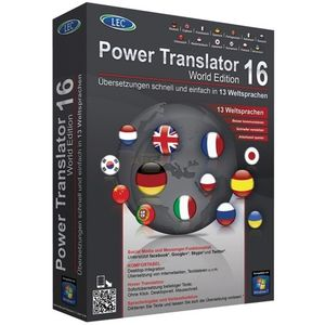 Power Translator 16 World Edition Vollversion MiniBox (PC)
