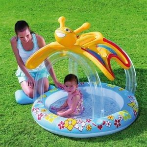 Bestway Planschbecken Kinder Pool Butterfly 52137