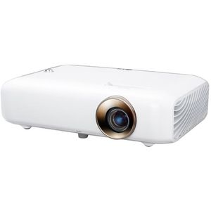 LG Beamer PH550G bis 254 cm (100 Zoll) CineBeam LED HD Projektor (550 Lumen, Drahtlose Screen-Share-Funktion) weiß