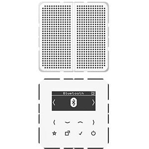 Jung Smart DAB+ Digitalradio Bluetooth SetMono DAB CD1 BT WW, DABCD1BTWW