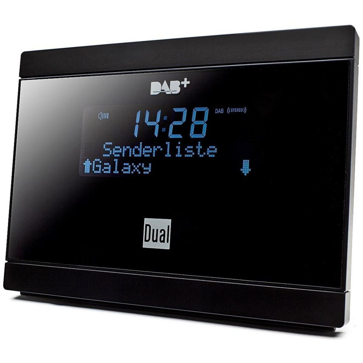 Dual DAB 2 A Digital-Radio Adapter mit Fernbedienung (LCD-Display, DAB(+)