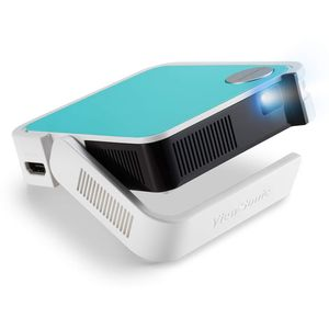 Viewsonic M1 mini Portabler LED Beamer (WVGA, 120 Lumen, HDMI, Micro USB, USB, 2 Watt Lautsprecher) multicolor